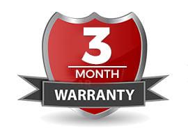 3 Month Warranty