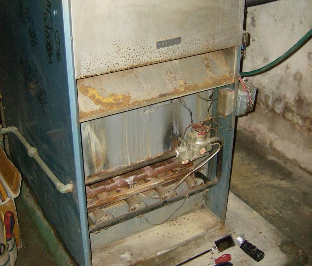 fix gas furnace